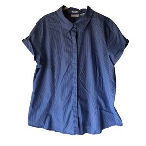 Liz Claiborne • Stripe Button Up